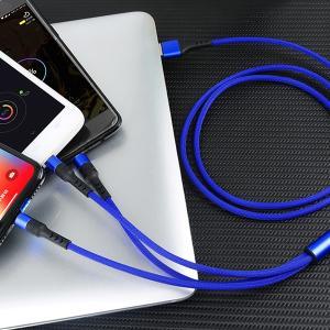 激安 3in1充電ケーブル iPhone Type-C MicroUSB 急速充電 モバイルバッテリー【送料無料】|tabtab|09