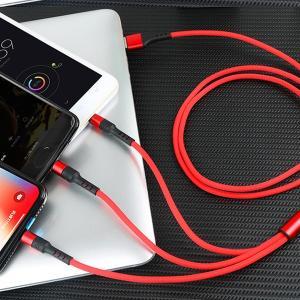 激安 3in1充電ケーブル iPhone Type-C MicroUSB 急速充電 モバイルバッテリー【送料無料】|tabtab|10