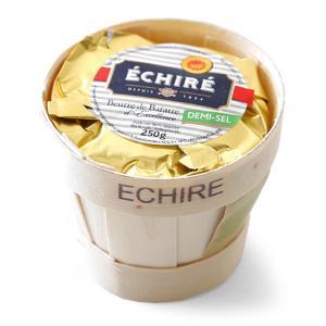 エシレ 有塩 発酵バター 250g フランス産 フレッシュバター カゴ入り パリ直送