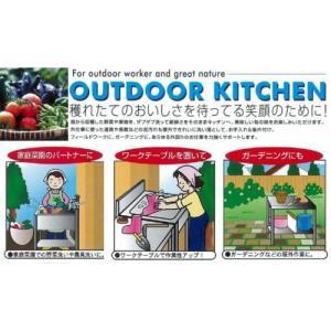 SANIDEA サンイディア アウトドアキッチン1200 SK-1200 簡易 流し台 ガーデンシンク|tac-online|02