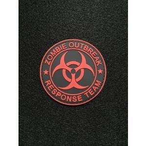 【ポスト投函商品】「ZOMBIE OUTBREAK*RESPONSE TEAM」 PVC パッチ|tac-zombiegear