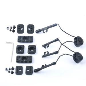 ARCヘッドセットアダプター / ブラック|tac-zombiegear