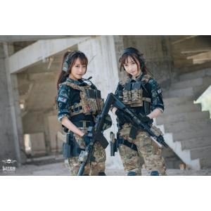 龍柄 コンバットシャツ /  男女兼用|tac-zombiegear