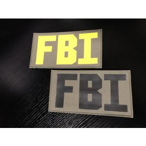 FBI プラカード TWINFALCONS製 ワッペン|tac-zombiegear