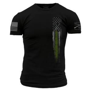 GREEN LINE FLAG Tシャツ【GRUNT STYLE】日本正規販売代理店|tac-zombiegear