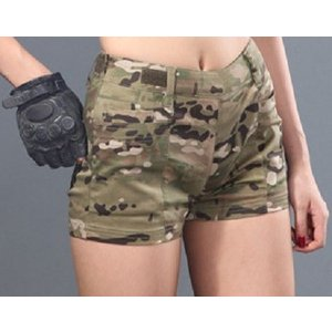 「Iron Wall Guardian」ショートパンツ&キュロットスカート/マルチカム|tac-zombiegear