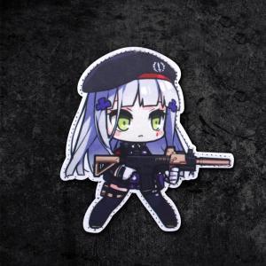 【ポスト投函商品】HK416ワッペン/少女前線 ドールズフロントライン風 tac-zombiegear
