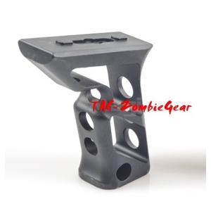 M-LOK用フォアグリップ高品質アルミCNC加工/Black|tac-zombiegear