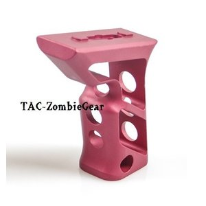 M-LOK用フォアグリップ高品質アルミCNC加工/Red|tac-zombiegear