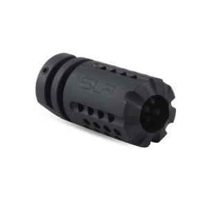 【SLR RIFLEWORKS タイプ】SLR Synergy Mini Comp 5.56タイプ(14mm 逆ネジ)/ブラック|tac-zombiegear