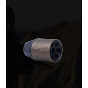【SLR RIFLEWORKS タイプ】SLR Synergy Linear Hybrid Comp 5.56(14mm 逆ネジ)/ゴールド tac-zombiegear