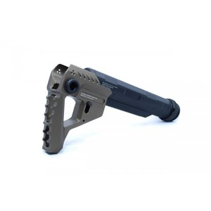 STRIKE INDUSTRIESタイプ Pit + Advanced Receiver Extension / Black-Gold|tac-zombiegear