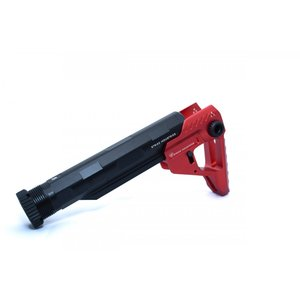STRIKE INDUSTRIESタイプ Pit + Advanced Receiver Extension / Black-Red|tac-zombiegear