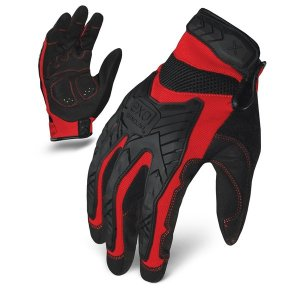 IRONCLAD 「EXO Motor Impact」Red|tac-zombiegear