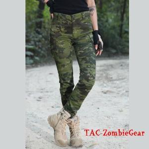 レディース用カモフラージュパンツ マルチカムトロピック|tac-zombiegear