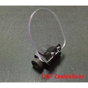 フリップアップ式レンズガード「あなたの光学機器お守りします」 / made in Japan|tac-zombiegear