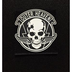 【ポスト投函商品】メタルギアソリッド「OUTER HEAVEN」 発光PVCパッチ|tac-zombiegear