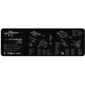 VECTOR OPTICS Carbine Gun カービン銃デザインクリーニングラバーベンチマット|tac-zombiegear