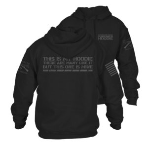 THIS IS MY HOODIE BLACK / パーカー|tac-zombiegear
