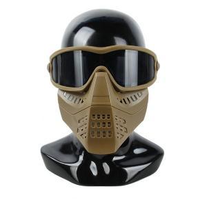 TMC製 ゴーグル付きマスク コヨーテブラウン|tac-zombiegear