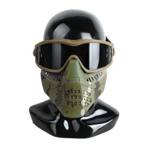 TMC製 ゴーグル付きマスク マルチカム|tac-zombiegear