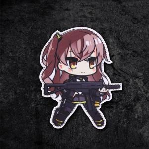 【ポスト投函商品】UMP45ワッペン/少女前線 ドールズフロントライン風 tac-zombiegear