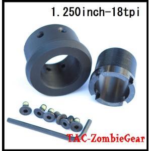 AR-15ライフル用インチピッチバレルナット|tac-zombiegear
