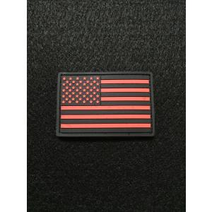 American Flags Gray/Red【ポスト投函商品】|tac-zombiegear