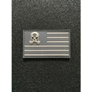 「ZERTNation Flag」パッチ   Black/Gray【ポスト投函商品】|tac-zombiegear