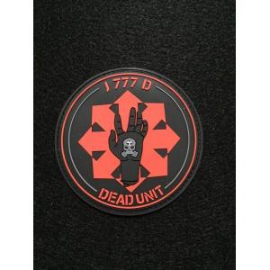 「DEAD UNIT」 PVCパッチ【ポスト投函商品】|tac-zombiegear