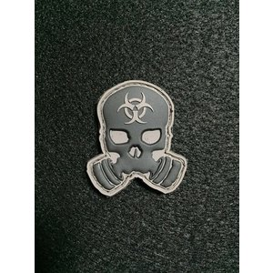 「Z.E.R.T. Skull」 パッチ / Blackout【ポスト投函商品】|tac-zombiegear