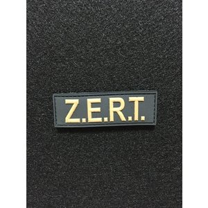 「ZERT」Tactical PVC Tab パッチ FDE(Flat Dark Earth)【ポスト投函商品】|tac-zombiegear