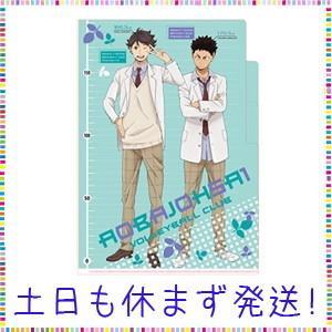 ハイキュー! ! 3ポケットクリアファイル 制服(及川・岩泉)