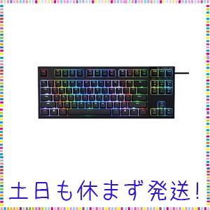 東プレ R2TLA-US4G-BK REALFORCE RGB TKL R2 英語 テンキーレス(8...