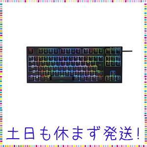 東プレ REALFORCE RGB TKL R2TLA-JP4G-BK 日本語配列 PCゲーマー向け...