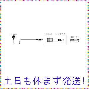Victor ミニジャック ステレオ標準プラグ [AP-105A]|tachibana-store