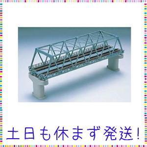 TOMIX Nゲージ 複線トラス鉄橋 F 青 複線PC橋脚 2本付 3051 鉄道模型用品|tachibana-store