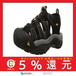 [キーン] アウトドアサンダル ニューポート エイチ ツー メンズ Black US 9.5(27.5 cm) D|tachibana-store
