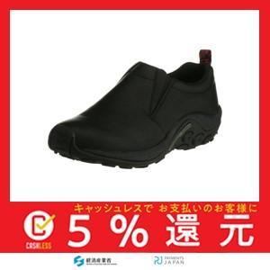 [メレル] ウォーキングシューズ ジャングルモックレザー メンズ Black US 9.5(27.5 cm) 2E|tachibana-store