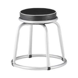 TRUSCO(トラスコ) 300Φ回転作業椅子 Φ300×H450 TYZ255-45H|tachibana-store