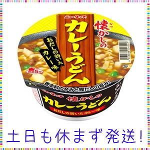 ヤマダイ ニュータッチ 懐かしのカレーうどん 84g×12個|tachibana-store