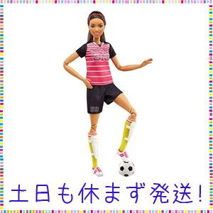 Barbie Careers Made to Move Soccer Player Doll|tachibana-store
