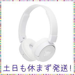 JBL T450BT Bluetoothヘッドホン 密閉型/オンイヤー/折りたたみ ホワイト JBL...