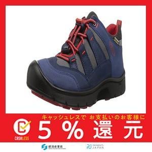 [キーン] キッズシューズ 子供靴 HIKEPORT WP(2019年モデル) DRESS BLUES/FIERY RED US 8(15 cm)|tachibana-store