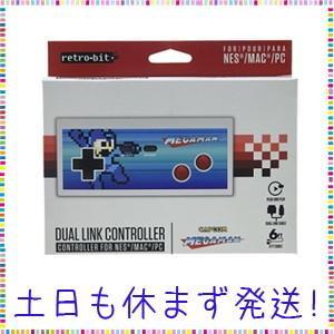 ロックマン dual link controller コントローラー NES MAC PC ニューファミコン用|tachibana-store