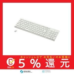 サンワサプライ ワイヤレスキーボード テンキーあり ホワイト SKB-WL26W|tachibana-store