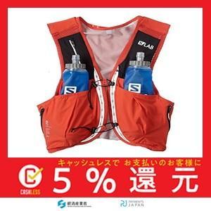[サロモン] ベスト型ハイドレーションバック S/LAB SENSE ULTRA 8 SET Racing Red|tachibana-store