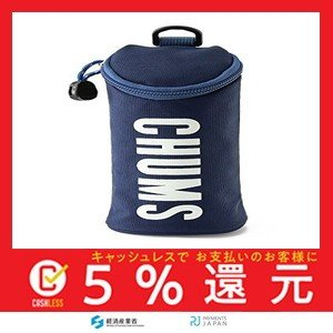 (チャムス) CHUMS ペンケース Eco Cylinder Pouch CH60-2479 Navy|tachibana-store