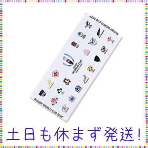ラグビーワールドカップ2019(TM) 公式ライセンス 20 UNIONS フェイスタオル ホワイト|tachibana-store