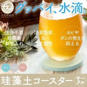 コースター 珪藻土 500ポイント消化 おしゃれ シンプル 吸水 サークルタイプ 色が選べる2枚セット (送料無料)|tachibana-youhinten
